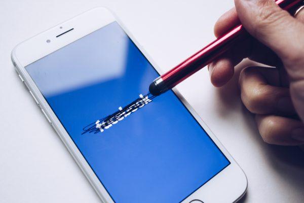 Facebook scratched