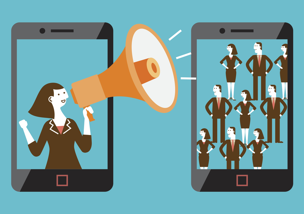 Targeted Mobile Marketing (Mixed-sex) | New Business Concept